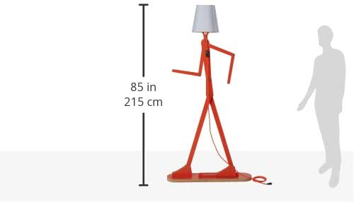 HROOME Cool Creative Floor Lamps Wood Tall Decorative Reading Standing Swing Arm Light 1 Lamps Buy - Best Online Lighting Stores